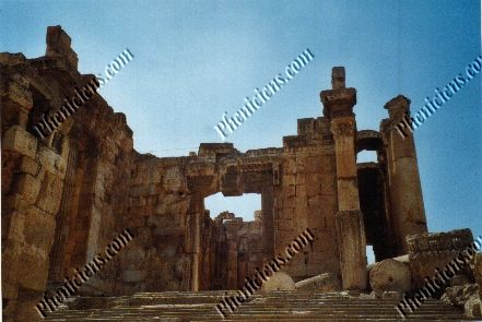 Temple of Bacchus - Entry