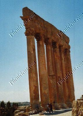 Les Colonnes de Baalbek